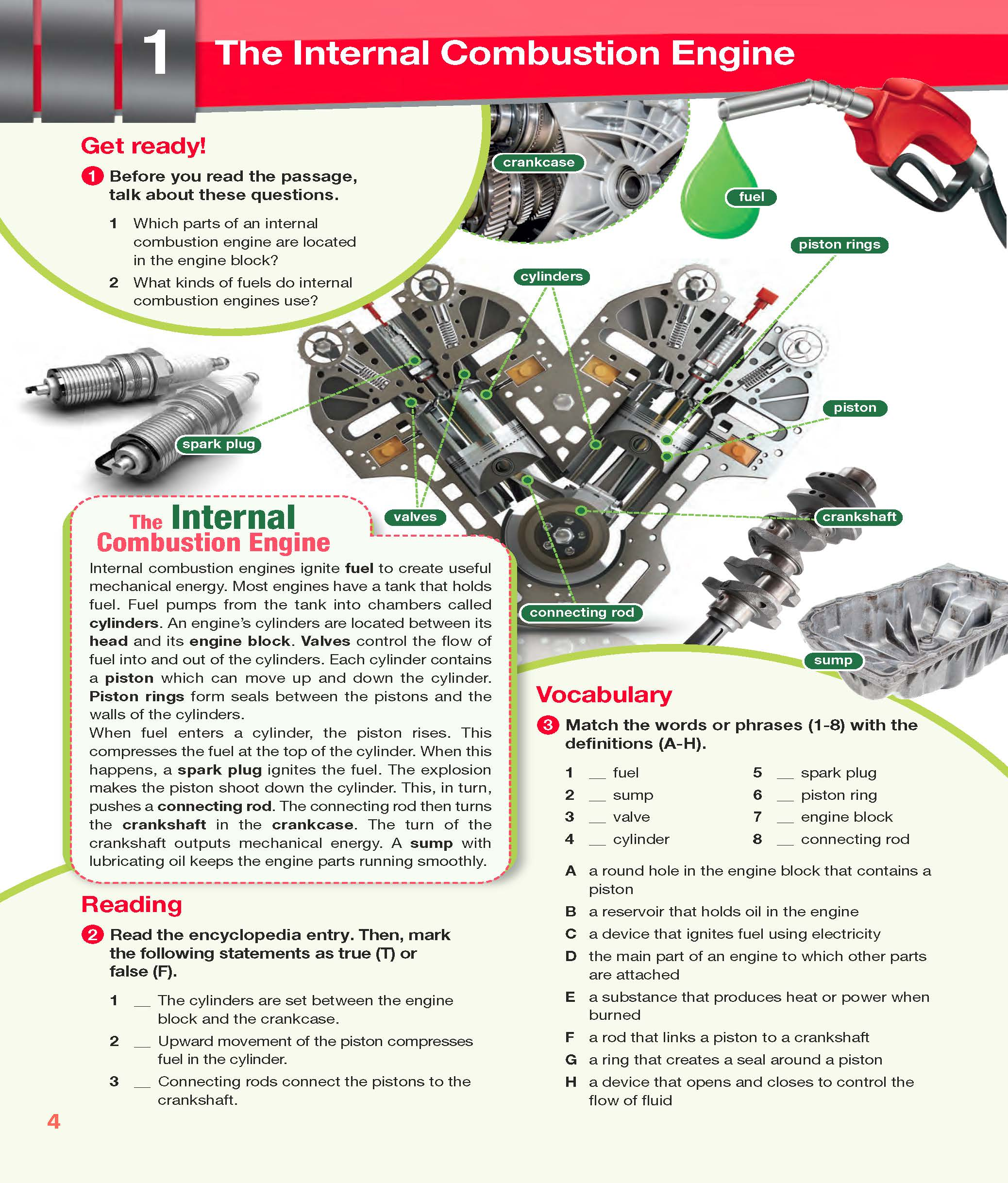 Career Paths: Automotive Industry | English for Specific ...