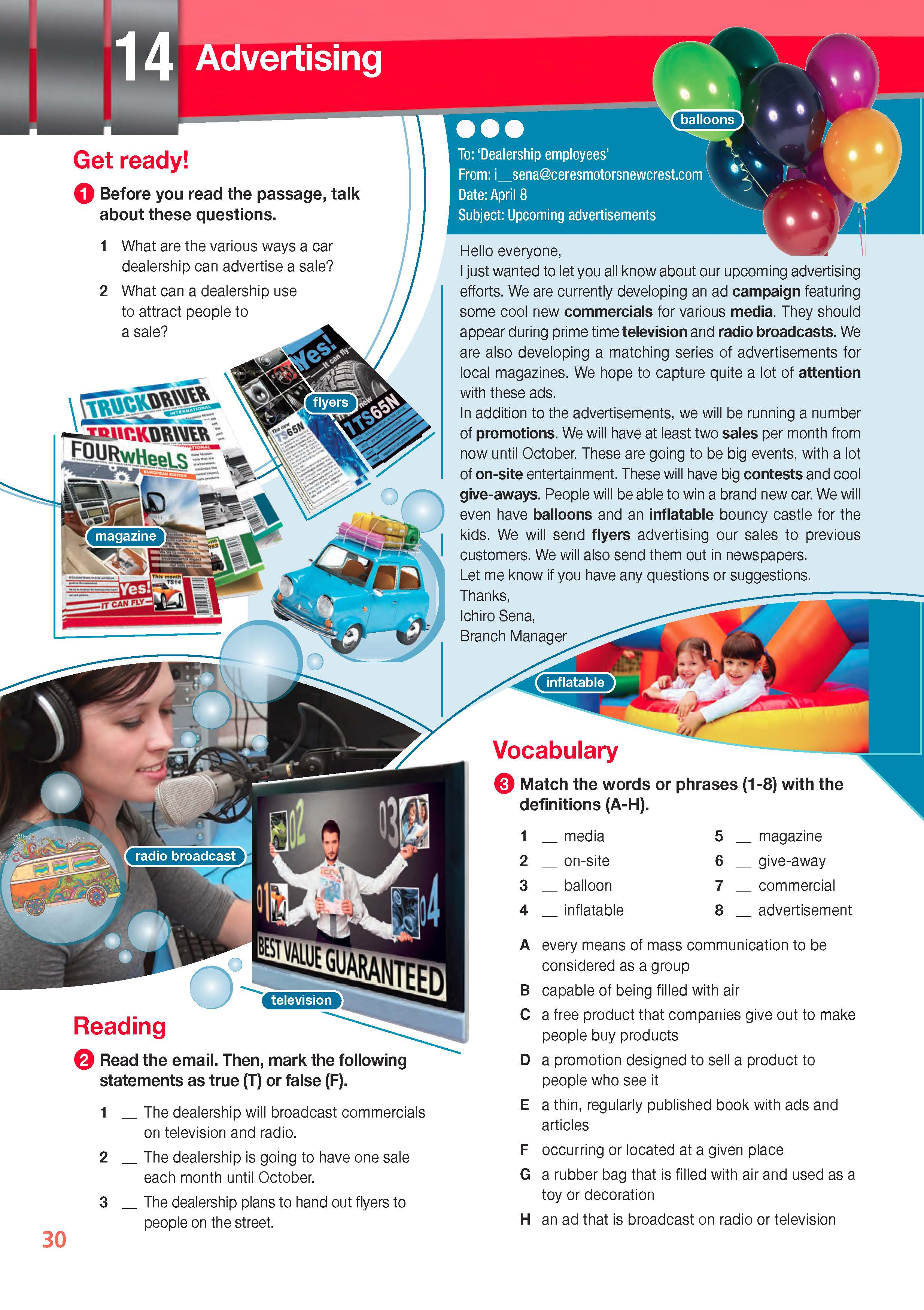 Career Paths Automotive Industry English For Specific Purpose Esp