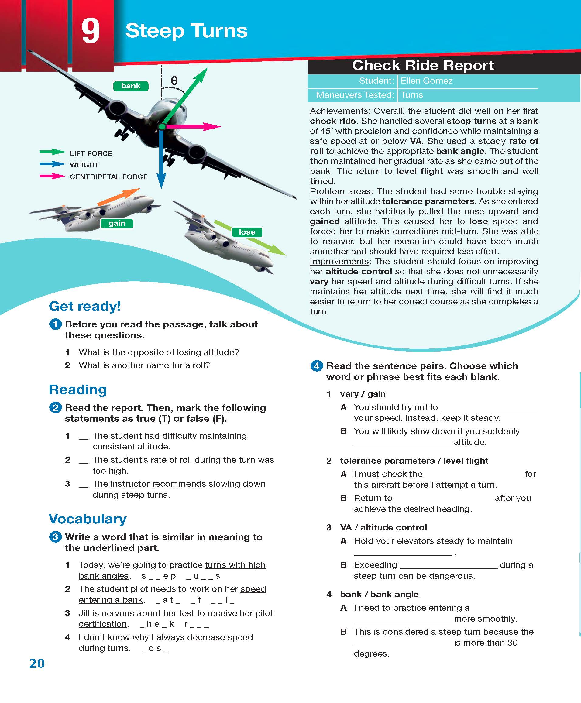 ESP English for Specific Purposes - Career Paths: Civil Aviation - Sample Page 3