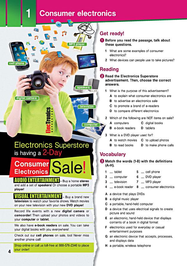 Sample Page 1 - Career Paths: Electronics