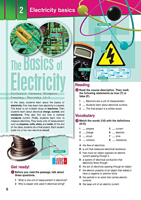 Sample Page 3 - Career Paths: Electronics