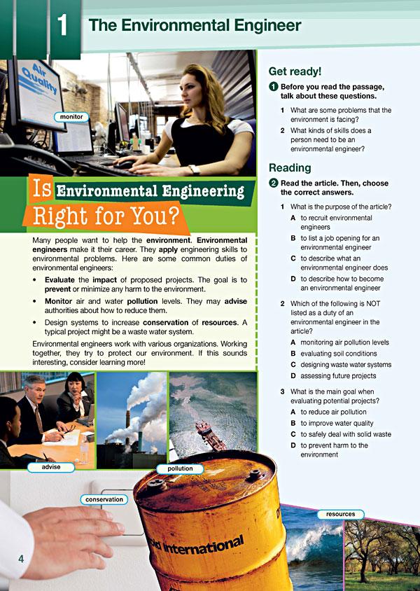 Sample Page 1 - Career Paths: Environmental Engineering