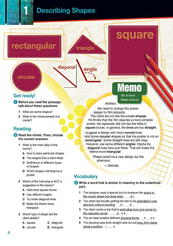 Sample Page 1 - Career Paths: Art & Design