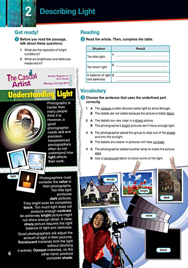 Sample Page 3 - Career Paths: Art & Design