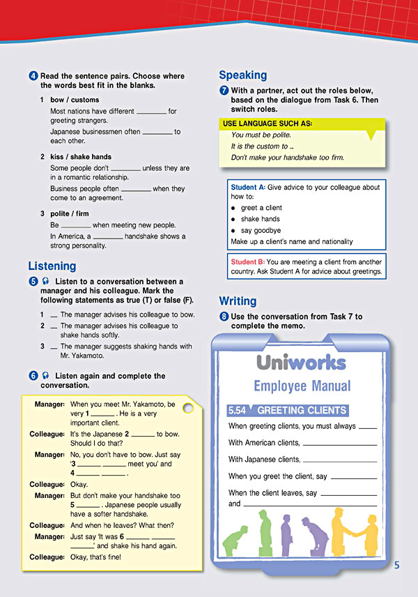 Sample Page 2 - Career Paths: Business English