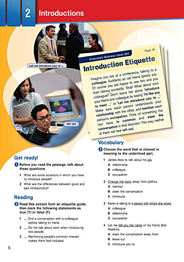 Sample Page 3 - Career Paths: Business English