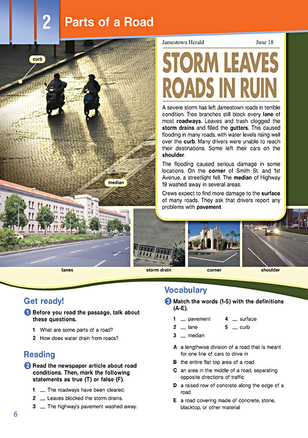 Sample Page 3 - Career Paths: Construction II - Roads & Highways