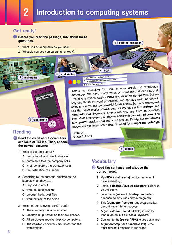 Sample Page 3 - Career Paths: Information Technology