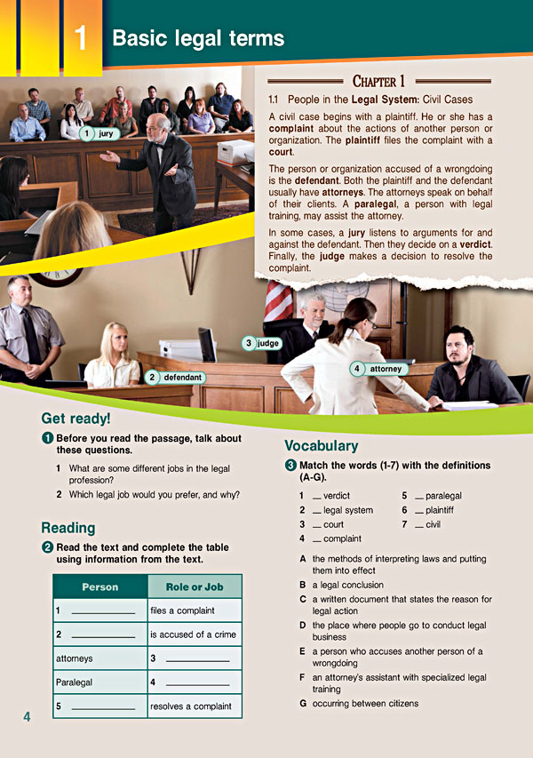 Sample Page 1 - Career Paths: Law
