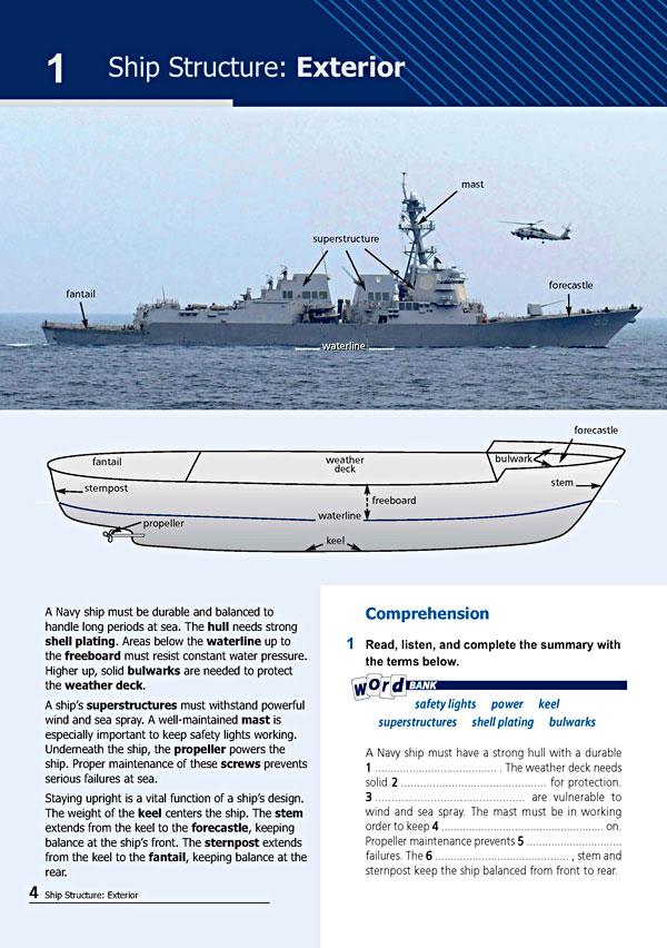 Sample Page 1 - Career Paths: Navy