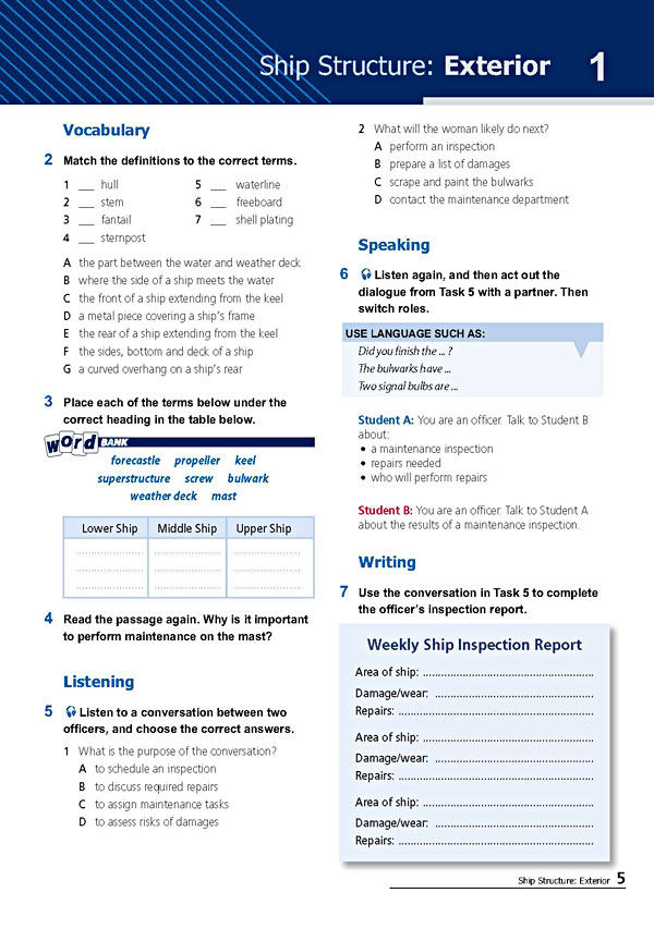 Sample Page 2 - Career Paths: Navy
