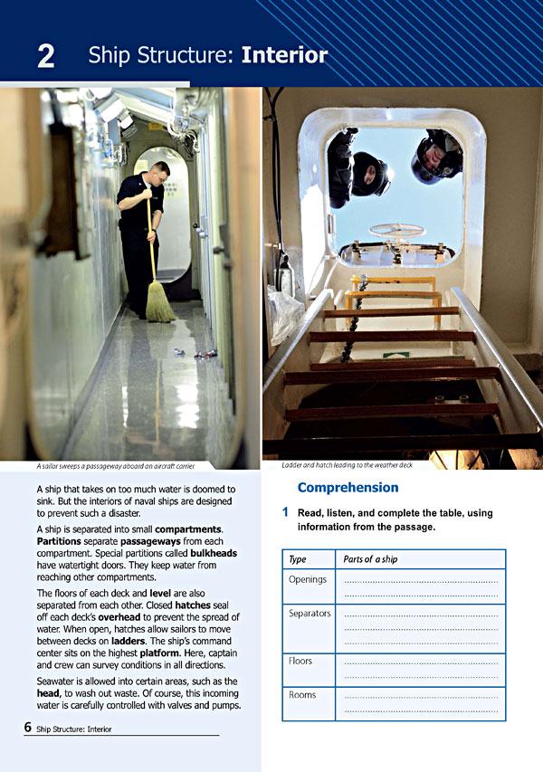 Sample Page 3 - Career Paths: Navy