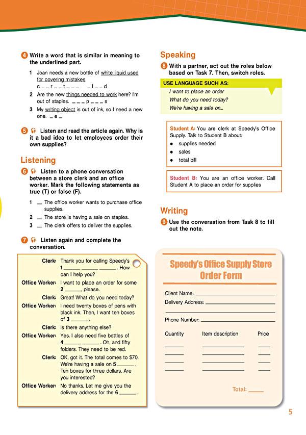 Sample Page 2 - Career Paths: Secretarial