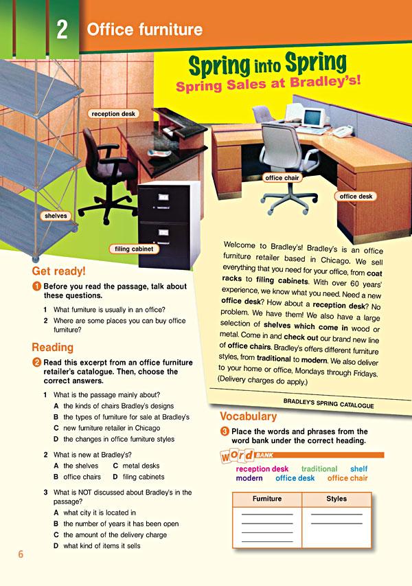 Sample Page 3 - Career Paths: Secretarial