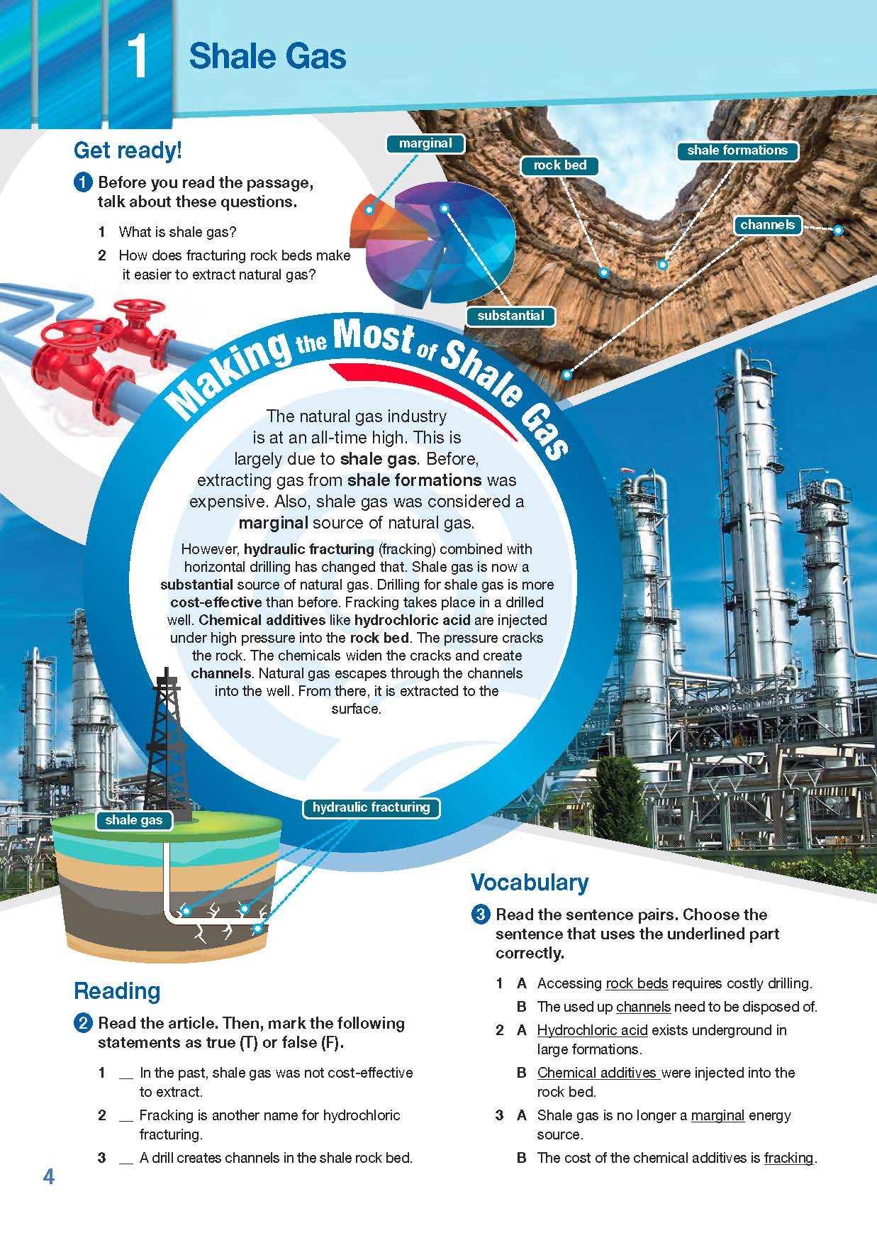 ESP English for Specific Purposes - Career Paths: Natural Gas II - Sample Page 1