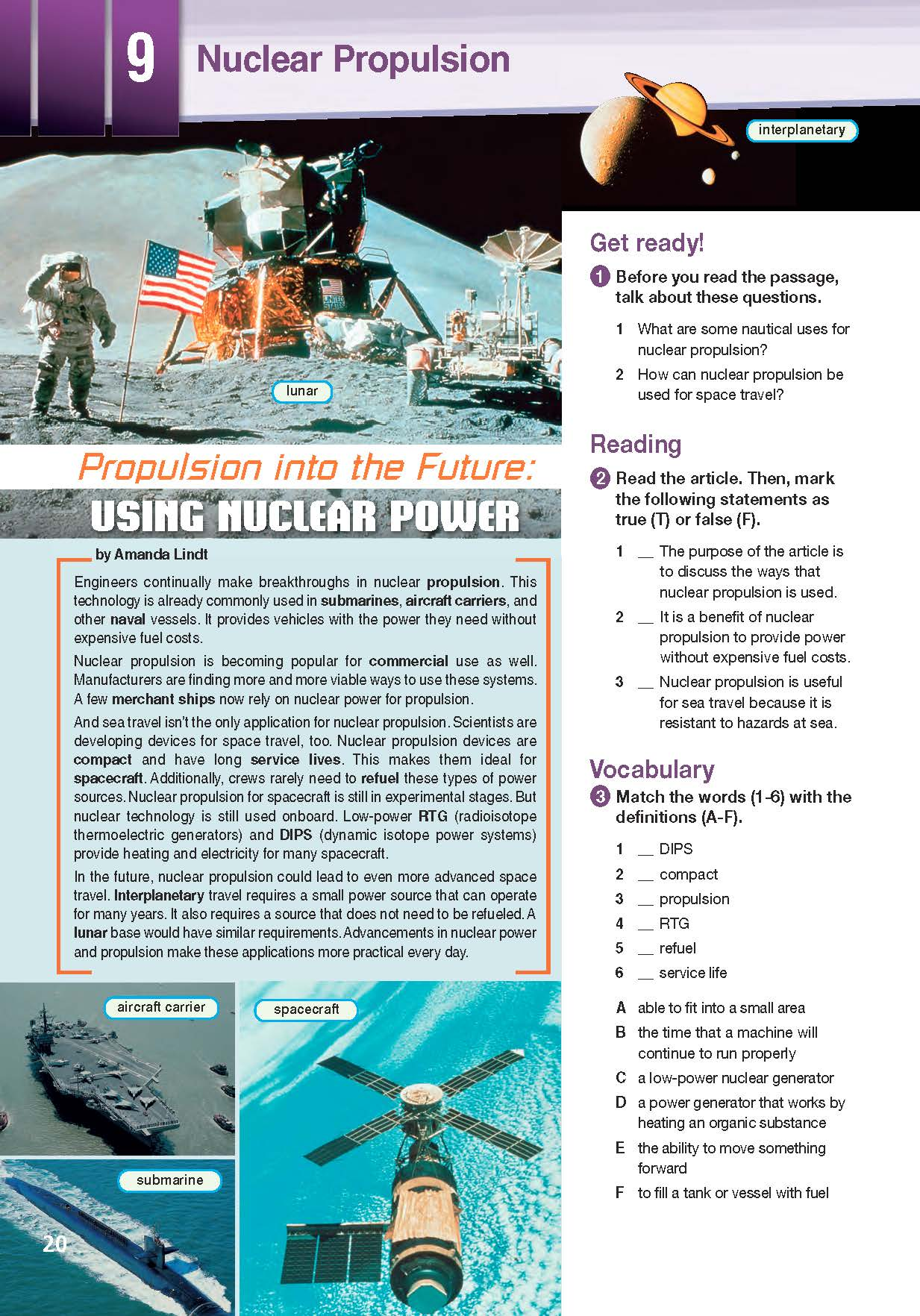 ESP English for Specific Purposes - Career Paths: Nuclear Engineering - Sample Page 3