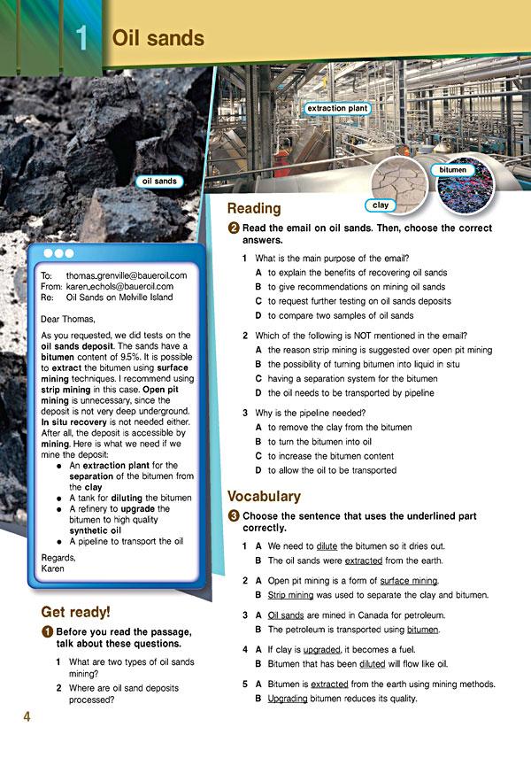Sample Page 1 - Career Paths: Petroleum II