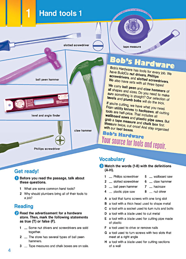 Sample Page 1 - Career Paths: Plumbing