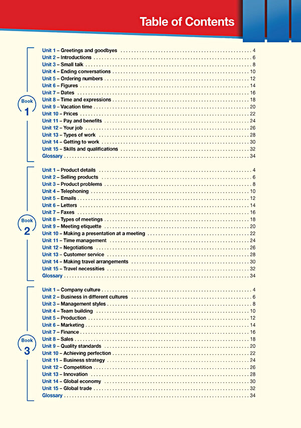 Contents - Career Paths: Business English