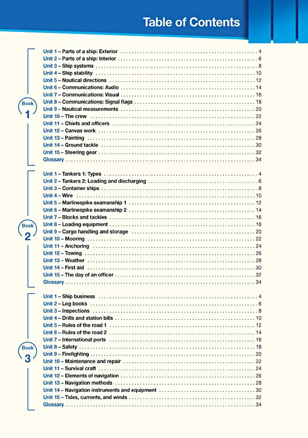 Contents - Career Paths: Merchant Navy
