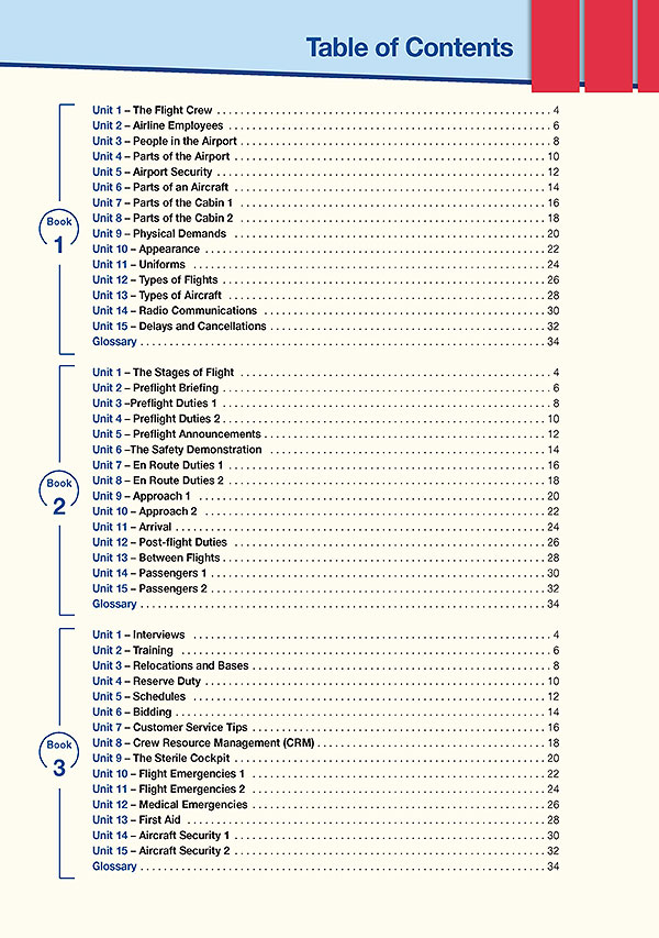 Contents - Career Paths: Flight Attendant