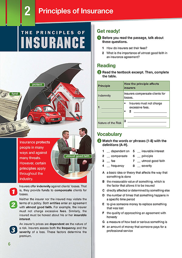 Sample Page 3 - Career Paths: Insurance
