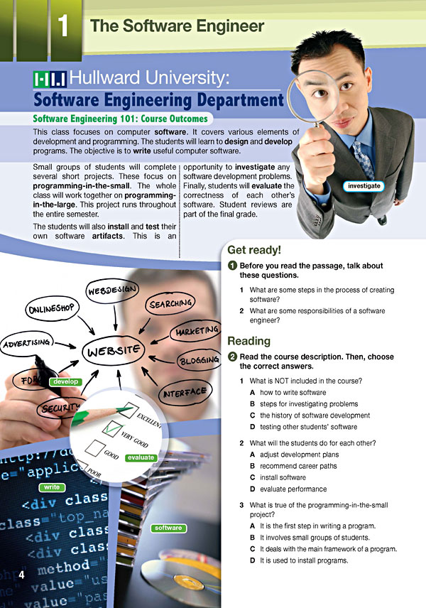 Sample Page 1 - Career Paths: Software Engineering
