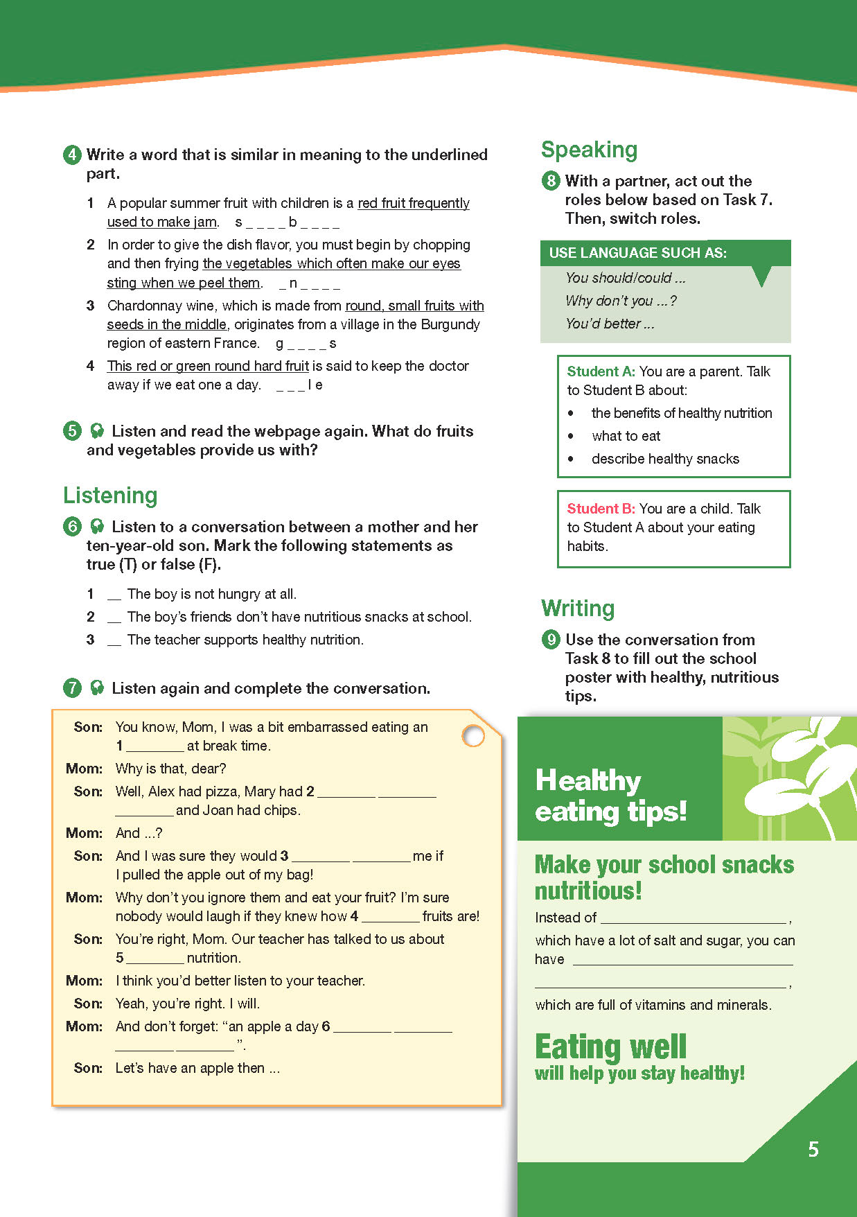 ESP English for Specific Purposes - Career Paths: Nutrition & Dietetics - Sample Page 2