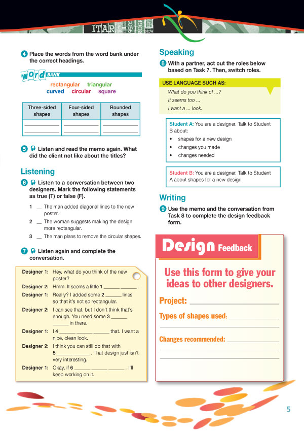 Sample Page 2 - Career Paths: Art & Design